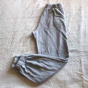Brandy Melville grey sweatpants